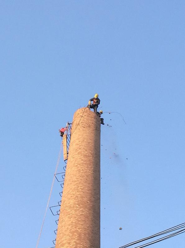 郑州烟筒平台拆除