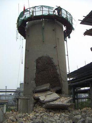 蚌埠专业水泥烟囱拆除