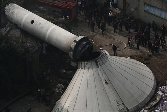 郴州钢筋混凝土烟囱拆除公司:欢迎访问
