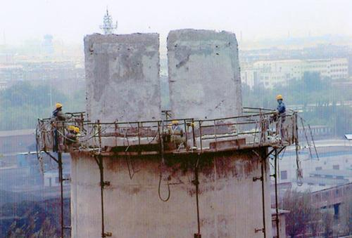 西固水泥烟囱拆除公司