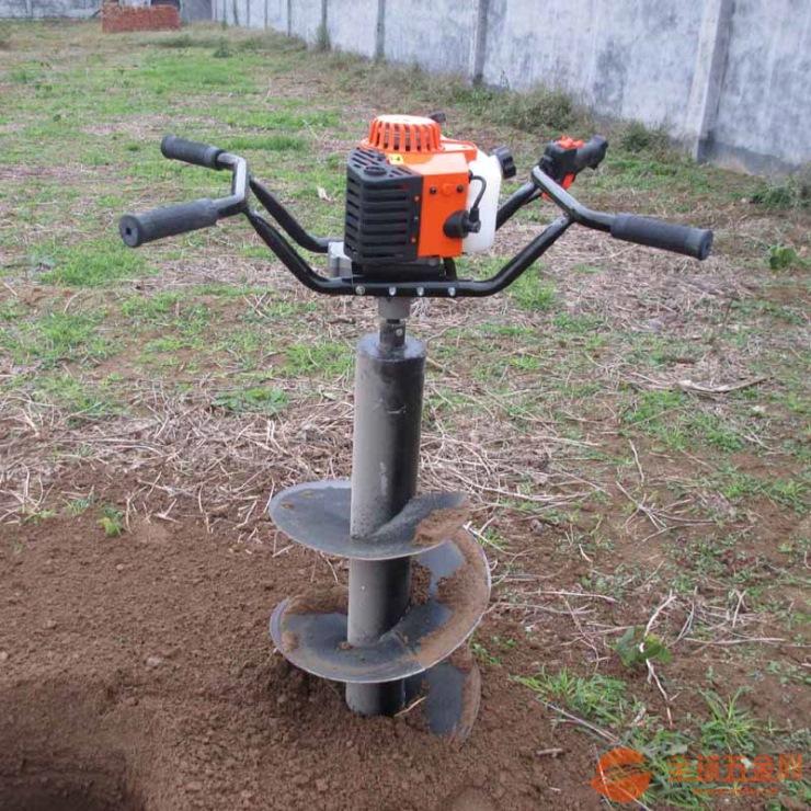 英达耐磨损多用植树挖坑机 立杆挖坑机钻眼机
