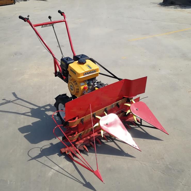 收获机械 小地块手扶稻子收割机