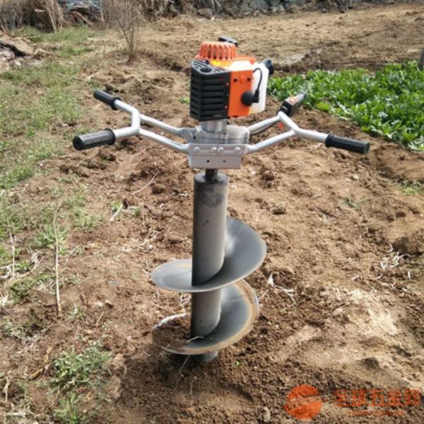 植树挖坑机 汽油种树挖坑机 便携式种树打眼机