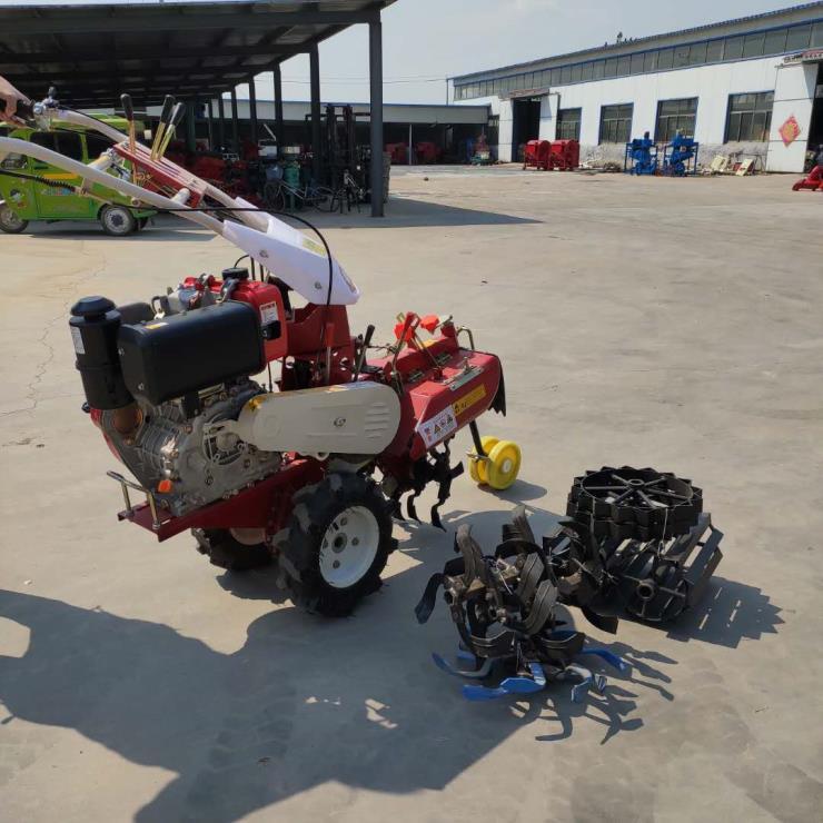 农用多功能便捷式家用柴油田园管理机
