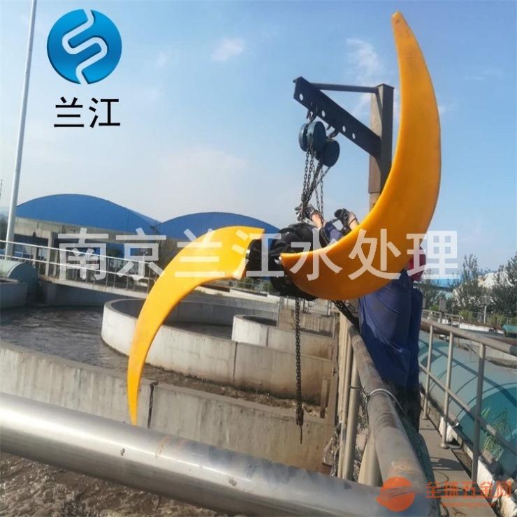 蘭江潛水低速推流器現場效果規格選型