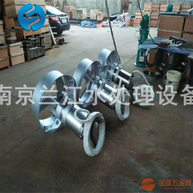 蘭江QJB不銹鋼潛水攪拌機制作