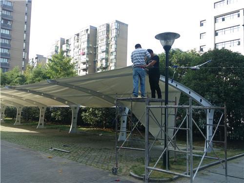 河南省鹤壁市浚县电动自行车棚生产厂家