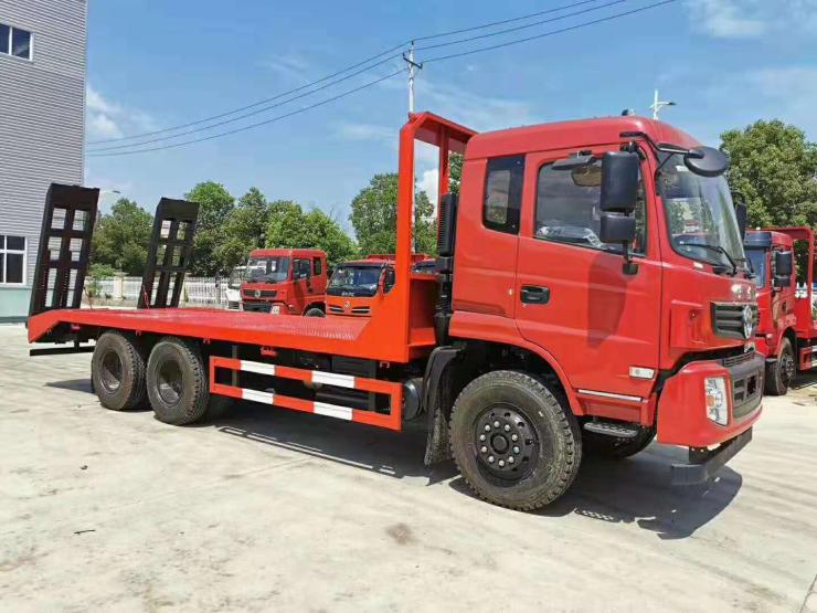 挖機拖板車拉120挖機的平板車挖掘機拖車