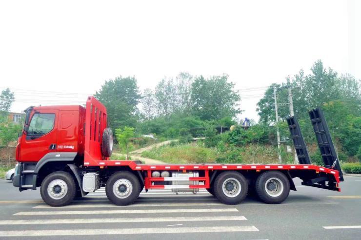 拉120挖掘机运输车轴勾机拖车