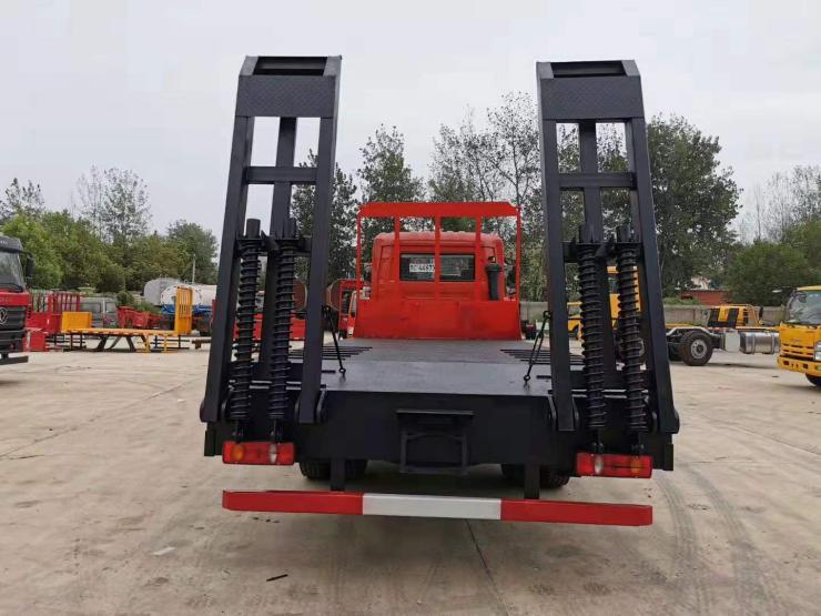 拉小挖機平板車拉75的挖機的平板車挖掘機拖板車