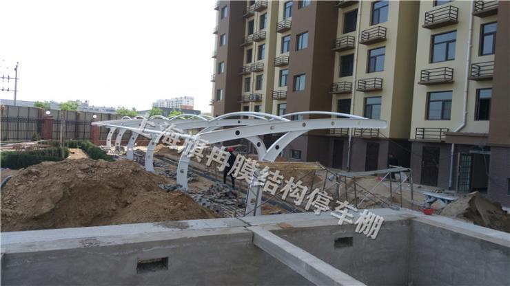 浙江省舟山市自行车棚制作停车棚报价厂家联系电话