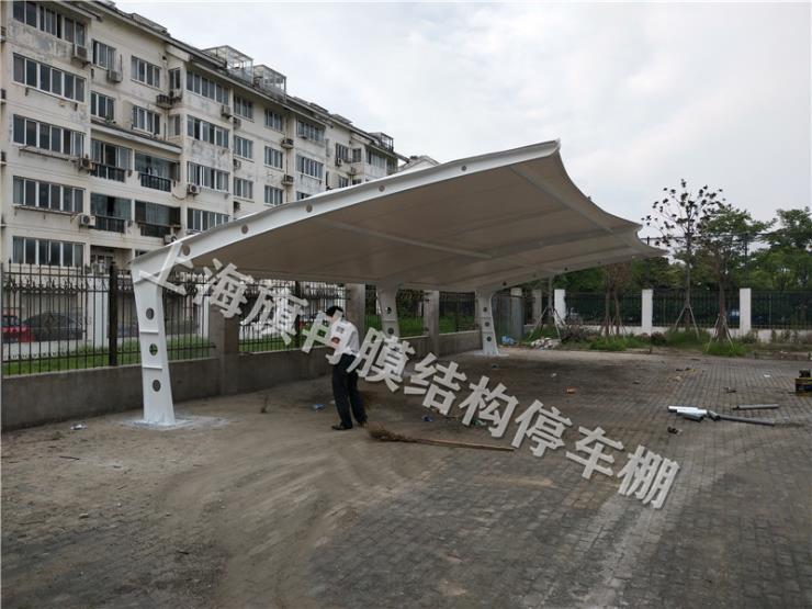 上海膜結構停車棚旗冉供應商