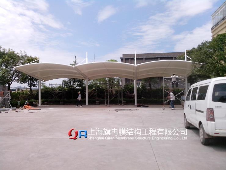 浙江省寧波市PVC膜布加工棚布安裝質量好