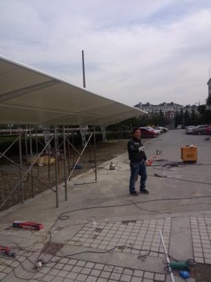 甘肅省甘南藏族自治州膜結構停車棚安裝制作