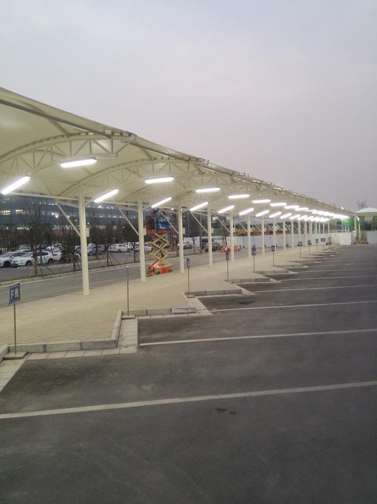 河南省焦作市膜結構停車棚設計安裝