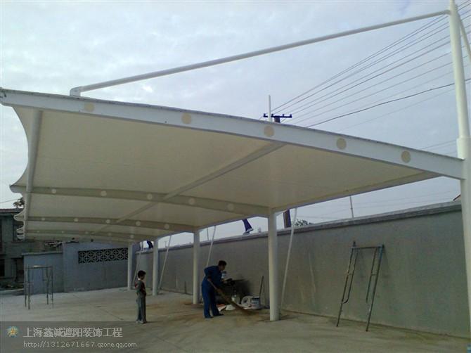 貴州省銅仁市膜結構停車棚安裝制作