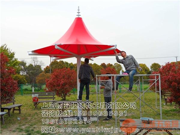 上海滨客膜结构景观棚膜结构景观棚汽车停棚