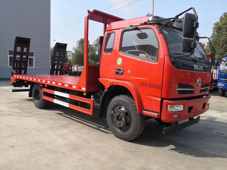 360型大型平板运输车小挖机平板拖车4桥挖机平板运输车