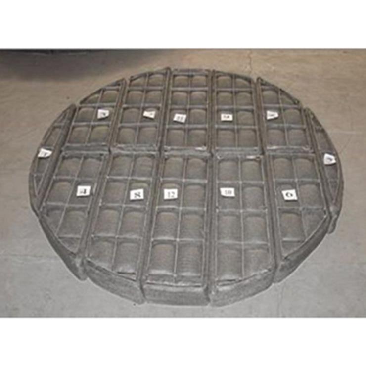 梅州電廠煙氣水蒸氣過濾鋼絲除霧網定做