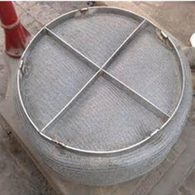 湛江烟气排放防水蒸气滤网钢丝除雾器工期短