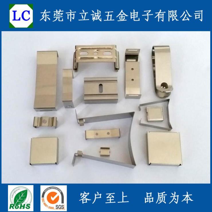 五金配件弹簧夹子金属卡扣,可依客户图纸生产定制批发。