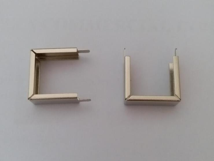 EI16*5铁夹EI16桥架,EI16低频变压器外壳,铁料镀镍