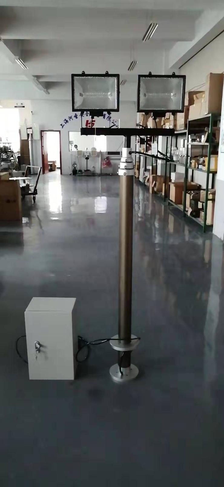 升降照明8.5M高度大功率升降照明河圣公司上海河圣出品