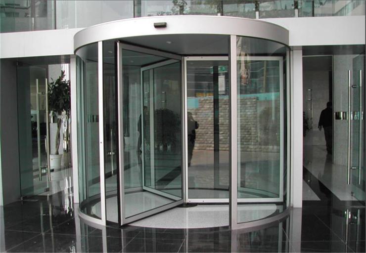 肇庆写字楼大厦不锈钢旋转门生产厂家品质保障