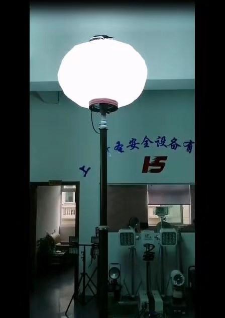 指揮車直立式照明裝置河圣牌產品參數