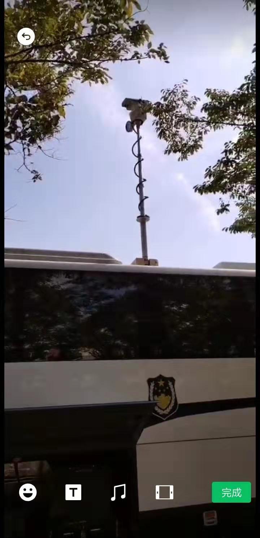 车载升降工作照明灯电力车升降照明灯河圣安全上海河圣生产商