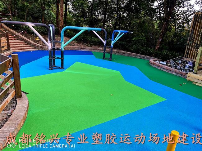 内江室外塑胶场地施工内江塑胶场地图片