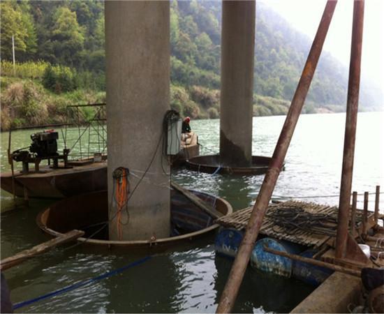 珠海码头加固-水下处理