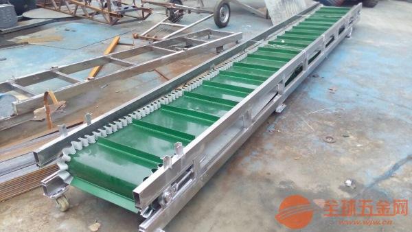 多规格带式输送机铝型材皮带机价格直销 车间用输送机