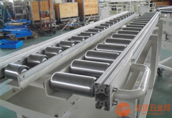 辊筒输送机不锈钢 线和转弯滚筒线