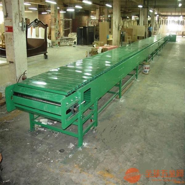 承重能力大输送机厂家 水平式链板输送机调试厂家直销