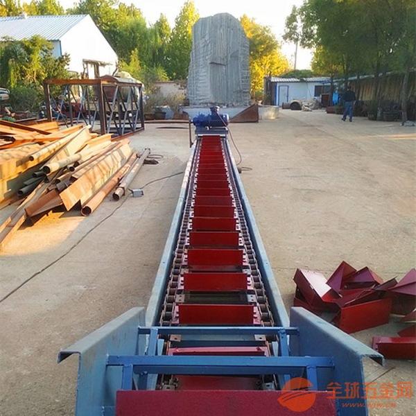 運輸平穩鏈板輸送機廠家直銷 貨物鏈板傳送機xy1