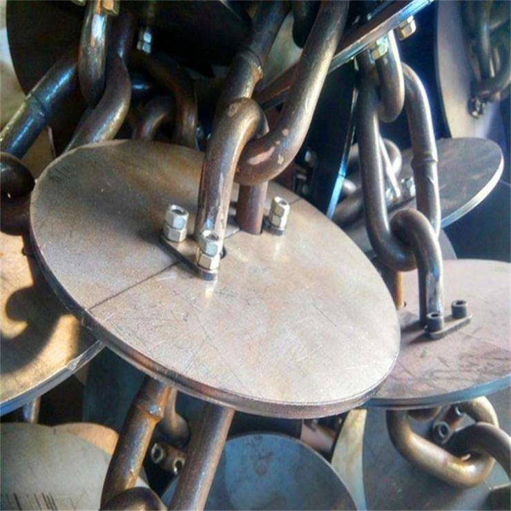 生产耐腐蚀链条盘片推进送料机