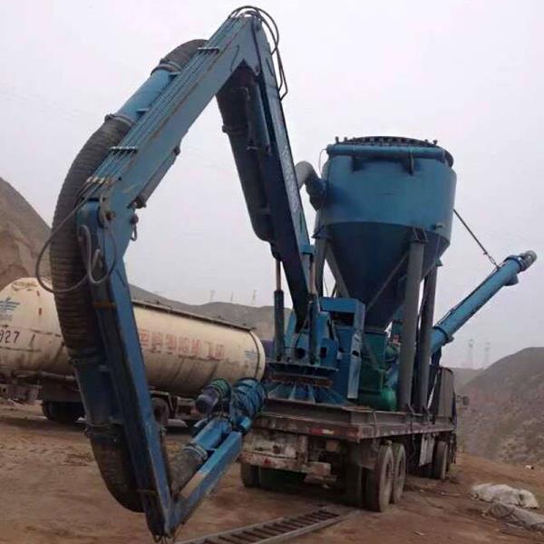 粉煤灰装车气力输送机优质耐用 气力输送机50t小时
