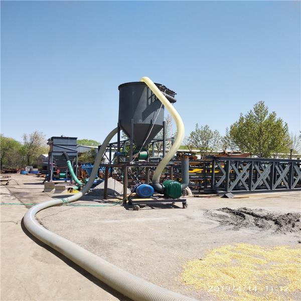 粉煤灰清库装车气力输送机品牌促销 粉煤灰输送机用来输