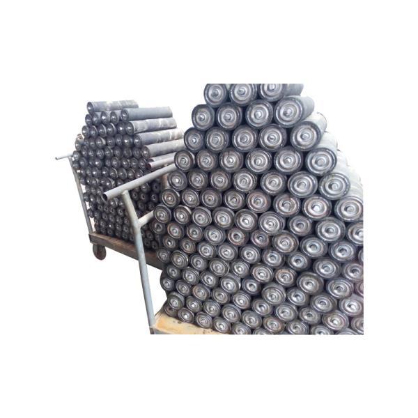 槽型调心托辊组厂家推荐 托辊密封组极低的摩擦系数xy