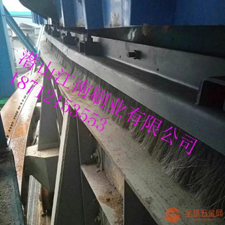 烧结环冷机上部和底部钢刷式密封有什么优势