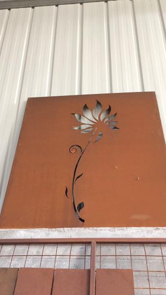 西藏耐候板均匀上锈下料切割