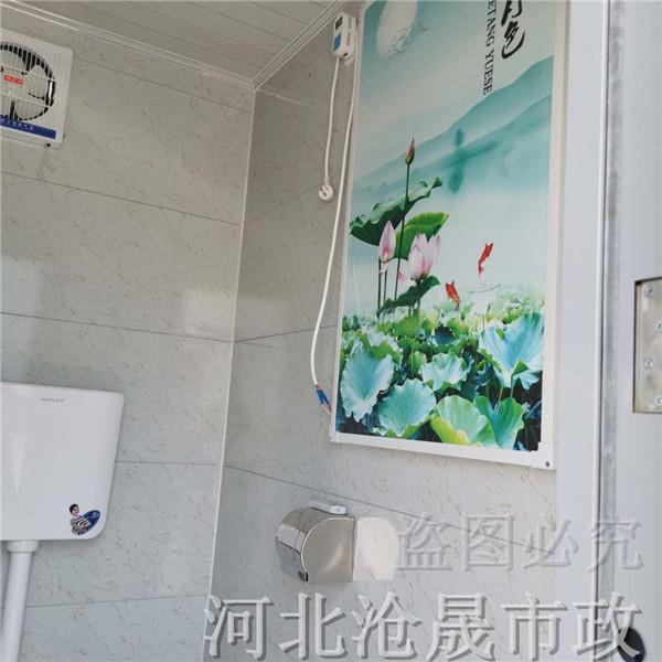 生态景区移动厕所——北京移动厕所厂家