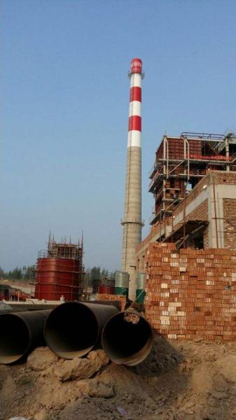 盐池县30-80米砖烟囱新建承接工程