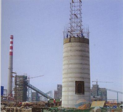宜兴30-80米烟囱新建工程建设