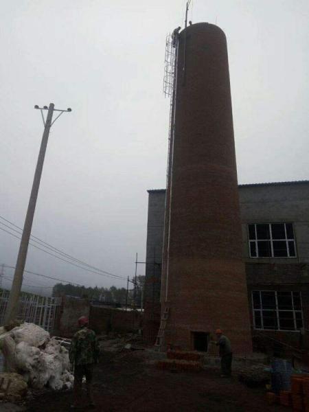 叠彩区30-80米烟囱新建承接工程