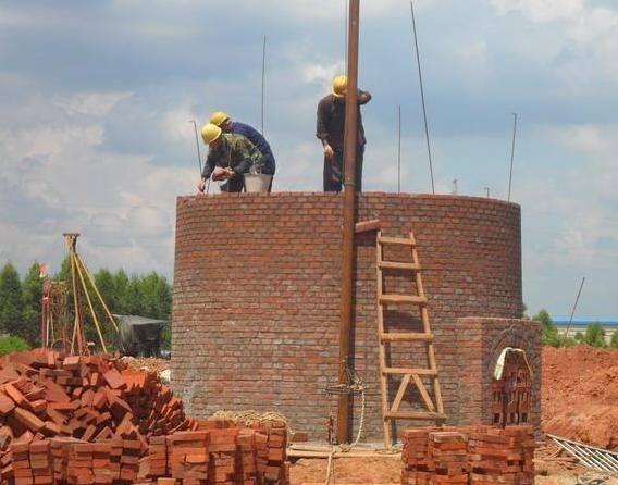 阳城县30-80米烟囱新建施工价格