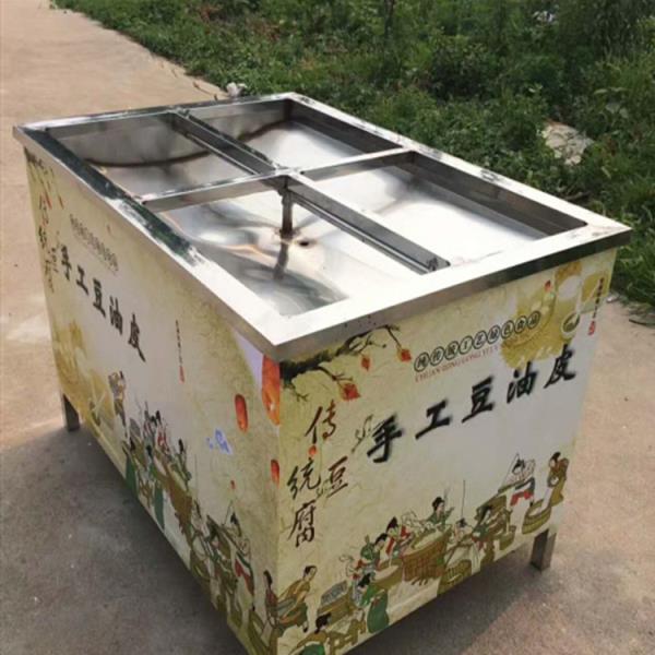 全自动商用油皮机 六盒油皮机多少钱一套