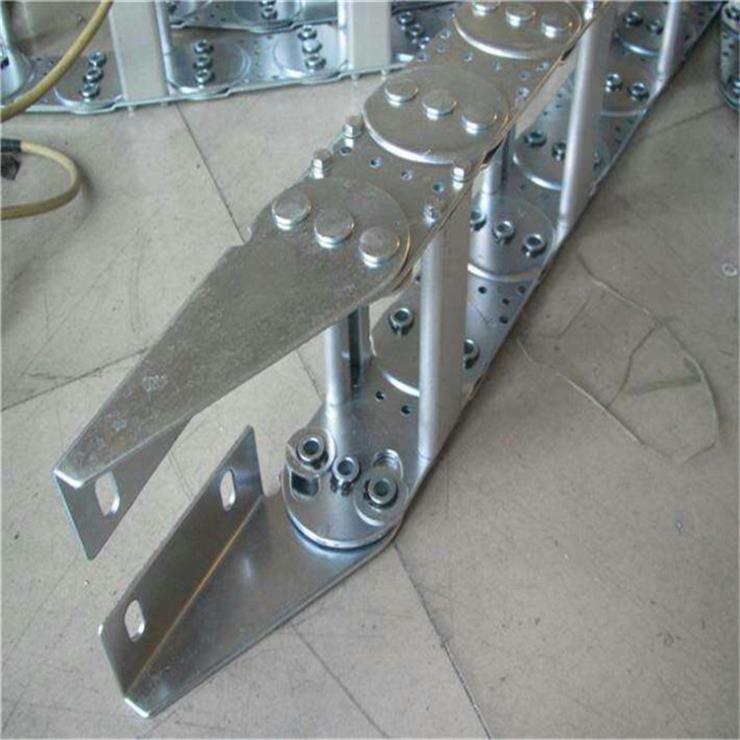 TL钢制拖链 刚铝拖链使用特点