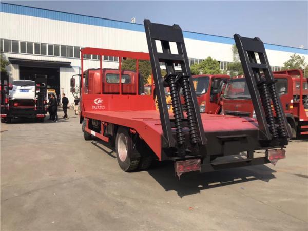 东风D913单桥工程机械平板车价格